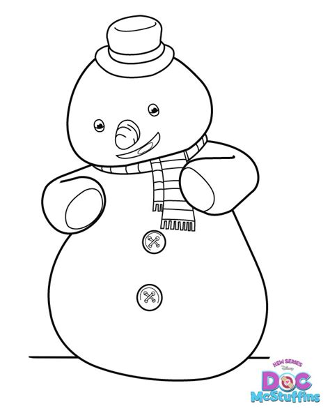 chilly from doc mcstuffins coloring pages pinterest