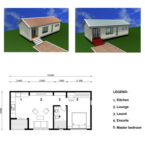Small Homes Floor Plans Small Eco House Plans Escortsea