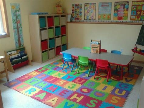 home daycare decorating ideas for basement daycare