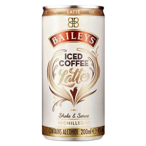 Baileys Coffee morrisons baileys iced coffee latte 200ml product
