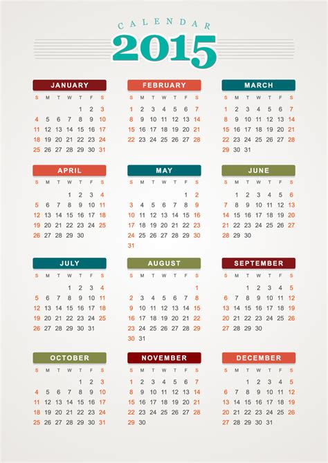 vector calendar template 18 free calendar templates vector images 2012 calendar