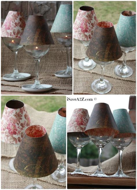 Diy Decorate L Shade by Wine Glass L Shade Diy Project Isavea2z