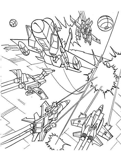 printable transformers 3 cartoons coloring pages