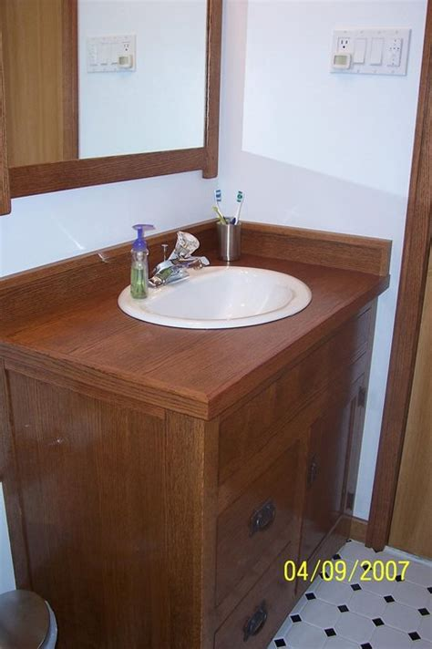 Arts And Crafts Bathroom Vanity Arts And Crafts Bathroom Vanity Mirror And Medicine Cabinet By Vincent Nocito Lumberjocks