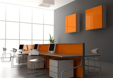 decoration office orange decoration for office interior