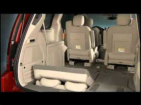 2011 dodge grand caravan third row power seat switch youtube