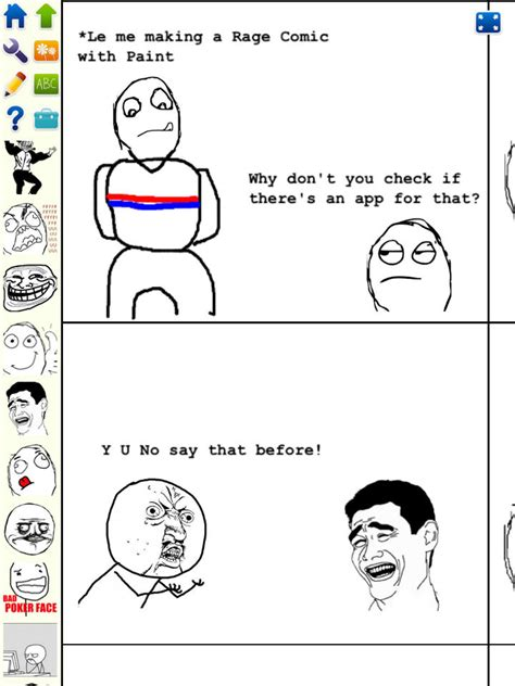 Rage Meme Creator - meme comic maker ipad image memes at relatably com