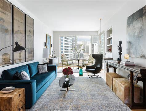 michelle dirkse eclectic escala condominium living room