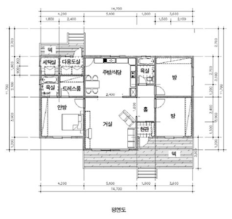 e plans com 마당 예쁜 집 집에 자연을 입히다 포천 130 5 39 5평 단층 경량 철골주택