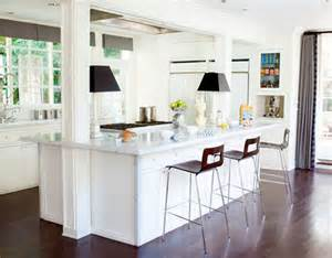 kitchen island with posts white kitchens house amp home