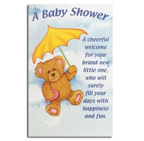 baby shower messages the world s catalog of ideas