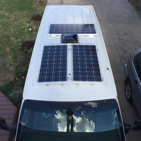 how solar panels are installed how to install renogy solar panels on your vanlife academy