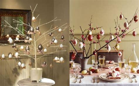 Decorare Un Ramo Secco Per Natale by Decori Per Apparecchiare La Tavola A Pasqua Pagina 2