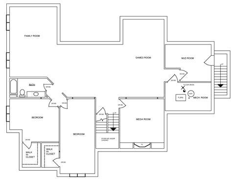 bungalow floor plans canada 2500 sq ft bungalow house plan 1099 canada