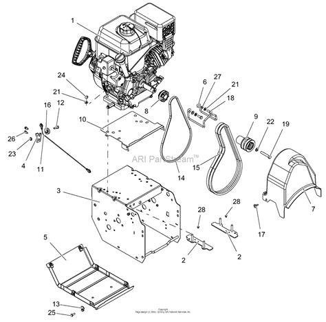 ariens parts diagrams ariens 921032 000101 099999 deluxe 30 quot parts diagram