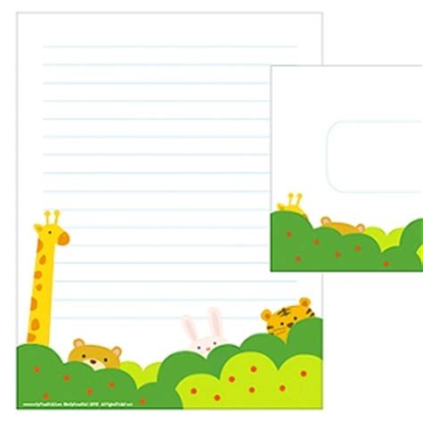 Printable Writing Paper Sets | printable writing paper sets