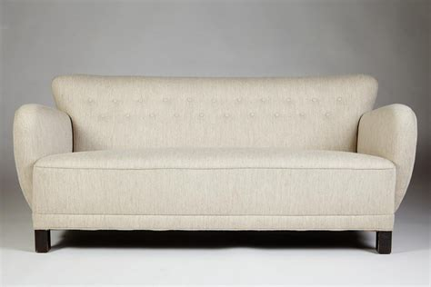 50s style sofa sofa in the style of flemming lassen denmark 1950 s