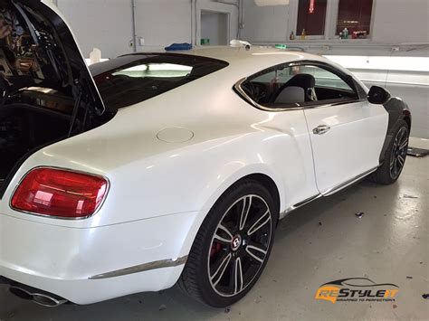 white bentley pearl white bentley continental gt vehicle customization