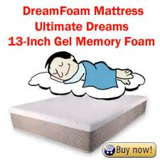 Ultimate Dreams Gel Memory Foam Mattress by 3 Best Mattresses An Easy Memory Foam Bed Guide