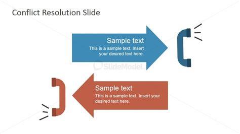 powerpoint template resolution 6922 01 opposite handsets illustration 3 slidemodel