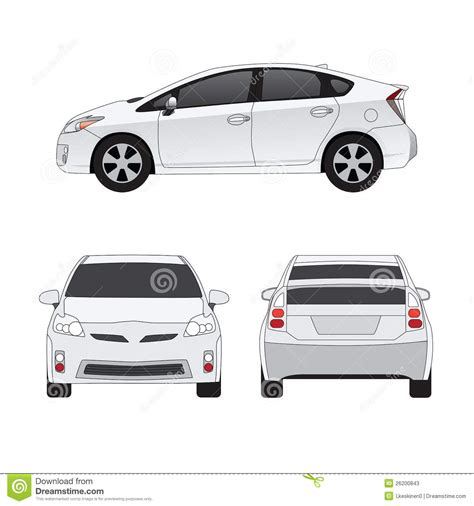 image gallery car measurements medium size city car illustration stock photos image
