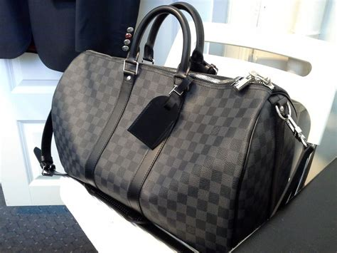 Jual Tas Lv Keepal 45 Damier Graphite Travel Mirror Quality 2 louis vuitton damier graphite keepall 45 bags graphite louis vuitton and bag