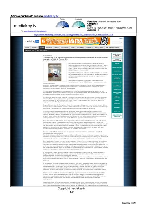 Brattle Mba Internship Login by 2014 10 21 Mediakey Tv Fiemme 3000 Tra Le Imprese