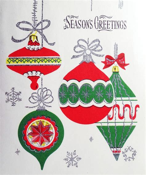 1000 images about christmas ornaments mid century on