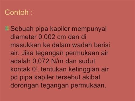 Pipa Kapiler 0 54 1roll fluida statis