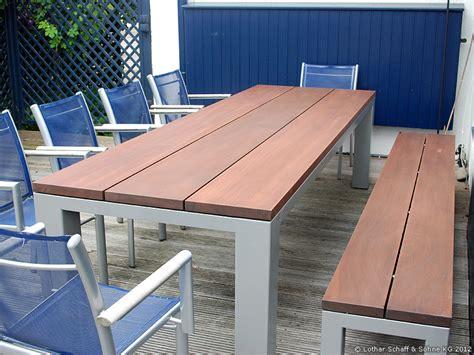 Gartenbank Weiß Metall by Gartentisch Metall Holz Fabulous Gartentisch Weiss Elise