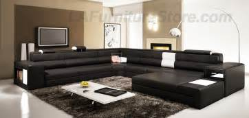 Modern Livingroom Sets by The Use Of Black Furniture In Decorating Your Living Room