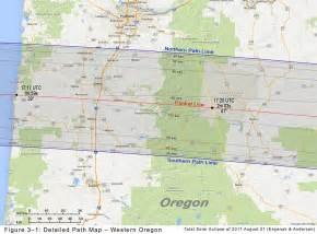 map of oregon total eclipse solar eclipses portal to the universe