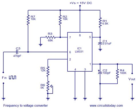 frequency to voltage project