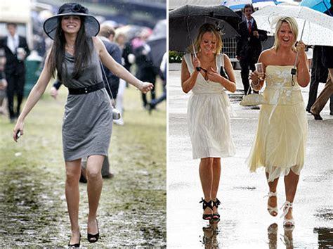 Last Day At Royal Ascot Resembles A Muddy Day At Glastonbury by Racegoers Brave The At Ascot Yet Again Daily Mail