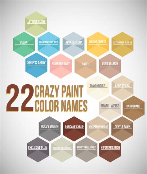 22 paint color names mccamy construction
