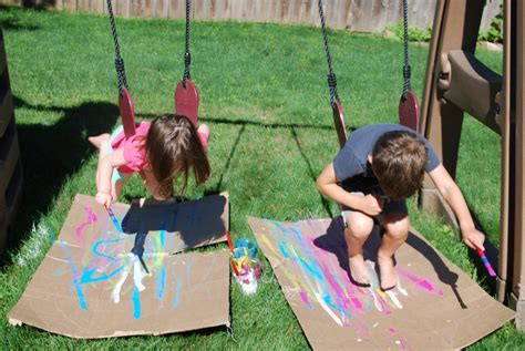 swinging with our friends homegrown friends kid art studio