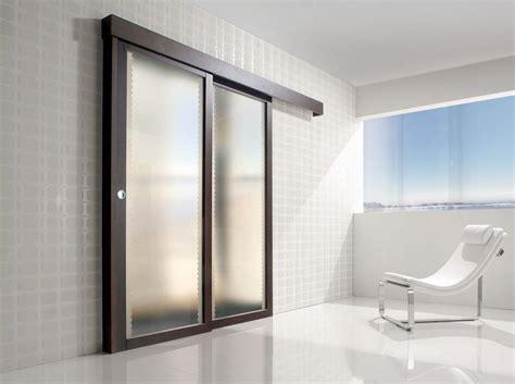 spazio porte porta per interni in legno e vetro satinato spazio