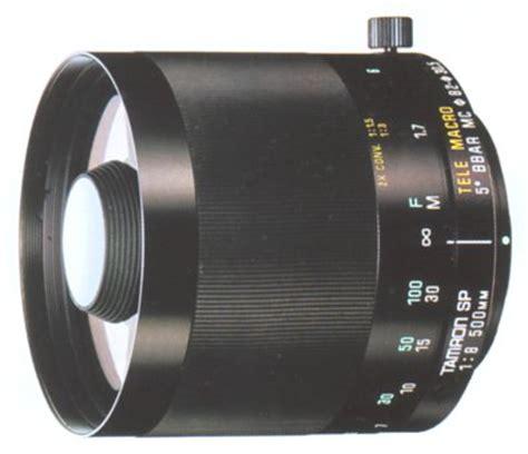 tamron sp adaptall 2 500mm f/8 model 55b