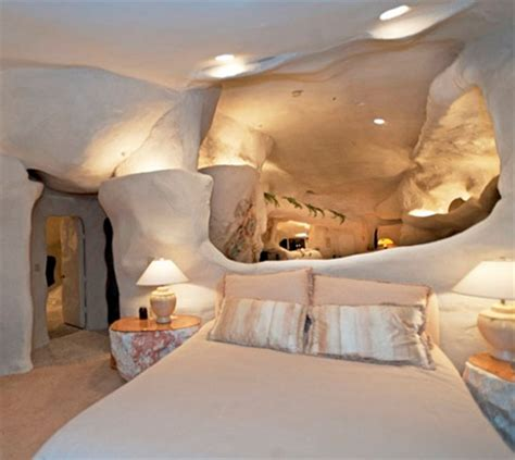 man cave bedroom flintstones house