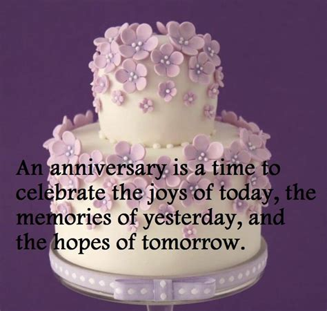 Wedding Anniversary Greetings And Messages by Happy Wedding Anniversary Cake Sayings Images Best Wishes