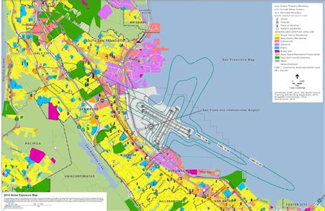 san jose airport noise exposure map residential sound insulation program http www flysfo