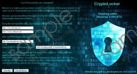 cryptolocker ransomware removal guide spyware techie