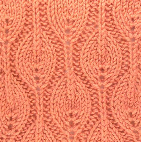 leaf stitch knitting 1000 images about knit stitches leaves on