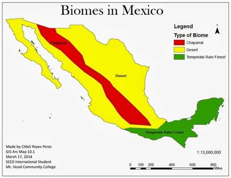 mexico in the map citlali reyes ecology of mexico 2014 by citlali reyes