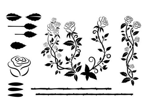 illustrator tutorial rose vector roses brushes