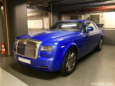 rolls royce phantom blue all andorra