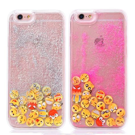 Smile Flip Samsung Galaxy A5 2015 Pink glitter dynamic phone cases for iphone 5s for iphone