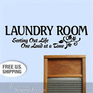 Laundry Room Signs Wall Decor Vinyl Wall Decal Laundry Room Wall Decor Sign Sorting By Twistmo