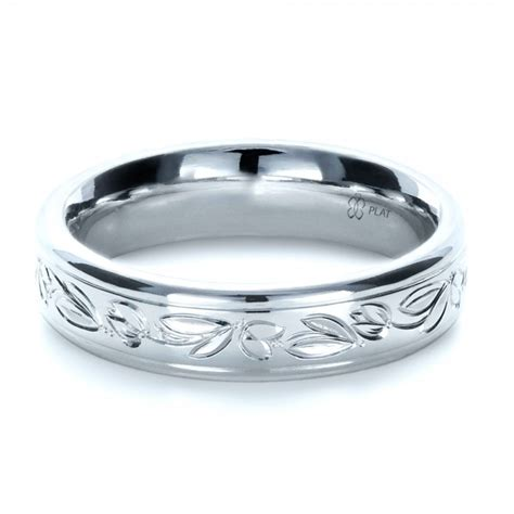 Wedding Rings Engraved by Custom Engraved Wedding Ring Bellevue Seattle