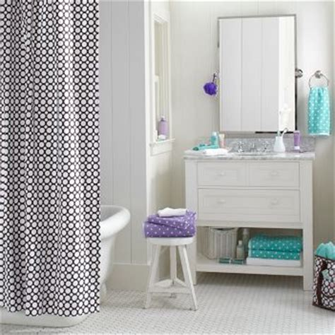 bathroom ideas for teens bathroom decorating ideas polka dot teen